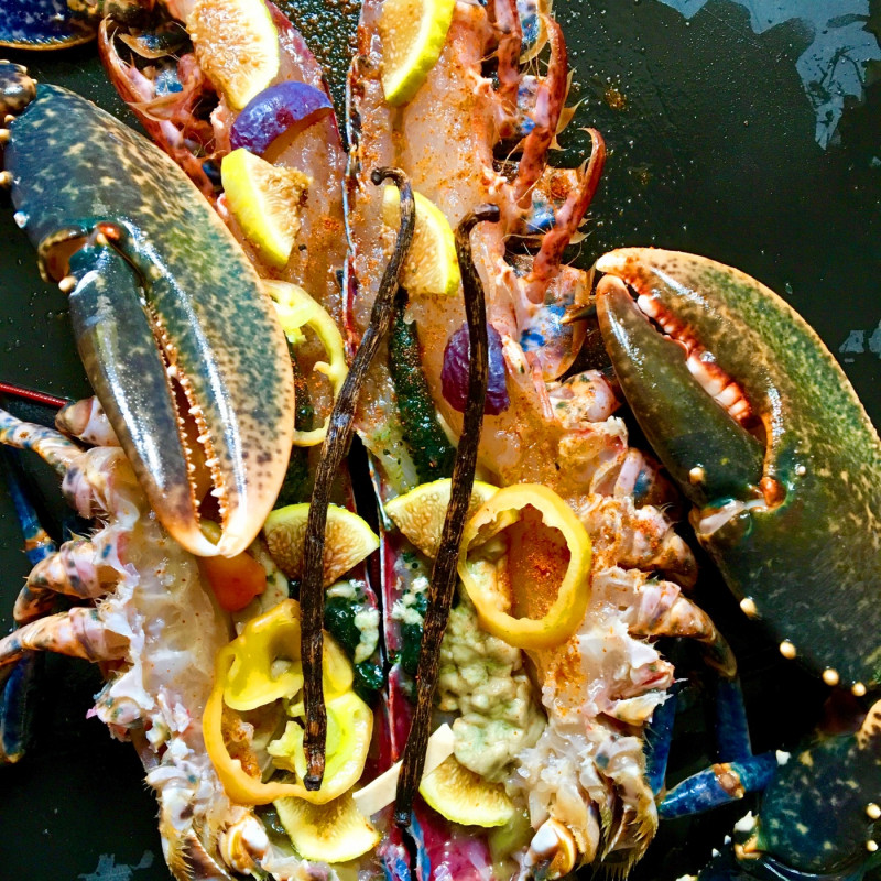 "Le Pavillon de Galon - ""Lobsters Exotica"" for special moments"
