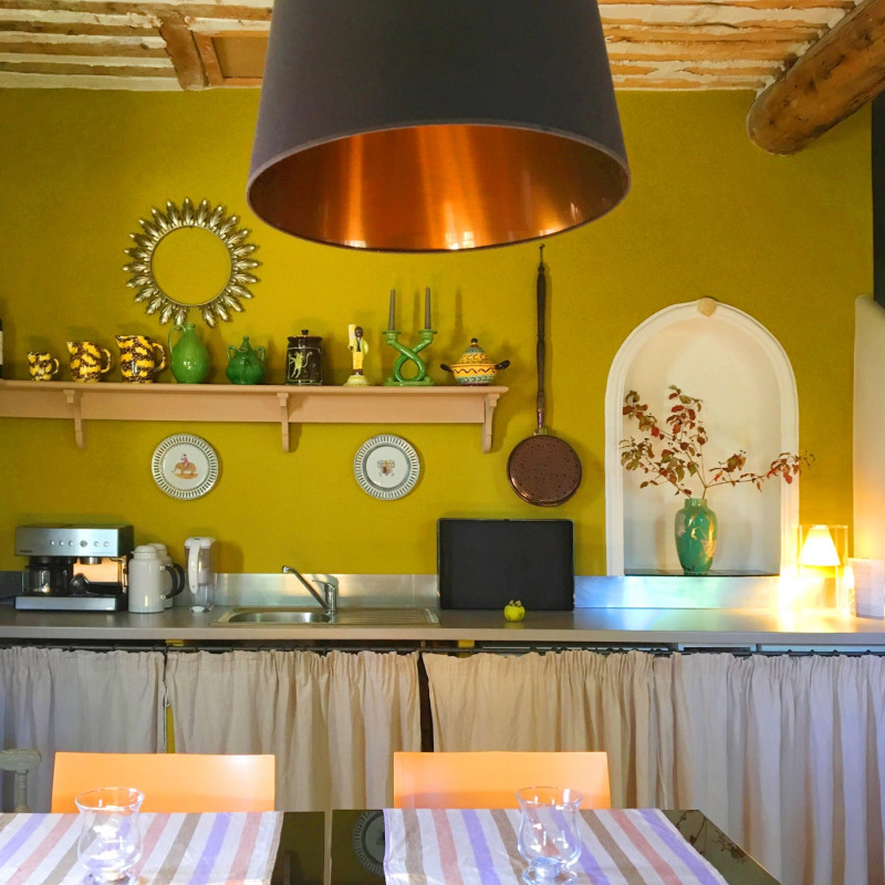 Le Pavillon de Galon - The live-in-kitchen dedicated to simple meals